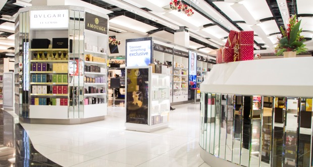 Heathrow T5 unveils luxury fragrance department