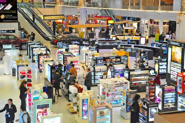 Hamad International Airport Doha duty free shops