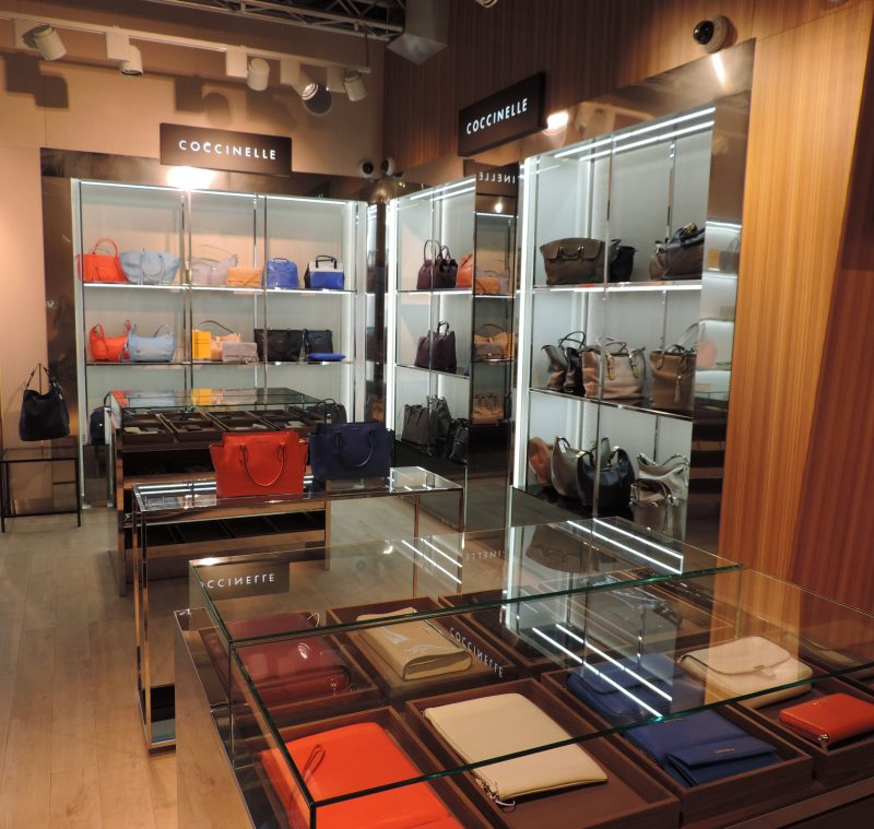 Coccinelle opens at airports in Russia amp Taiwan Duty Free Hunter