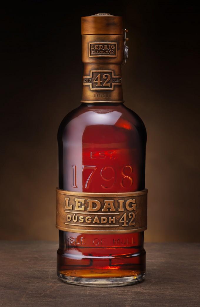 Rare Ledaig 42 YO malt goes on sale at Dubai airport