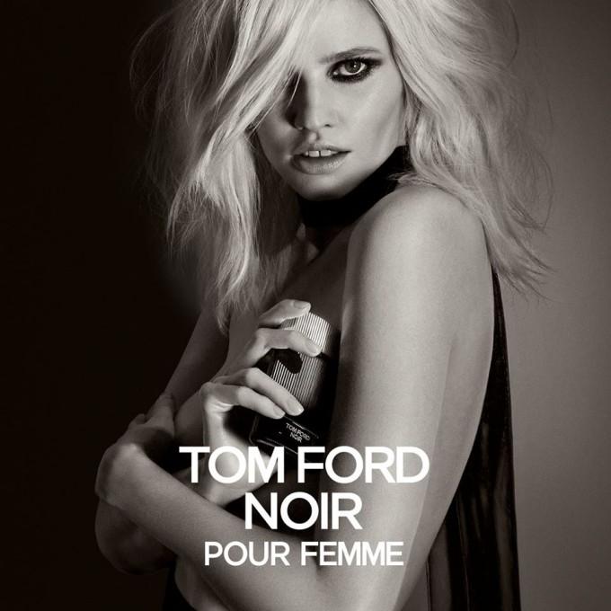 Lara Stone fronts new Tom Ford Noir fragrance