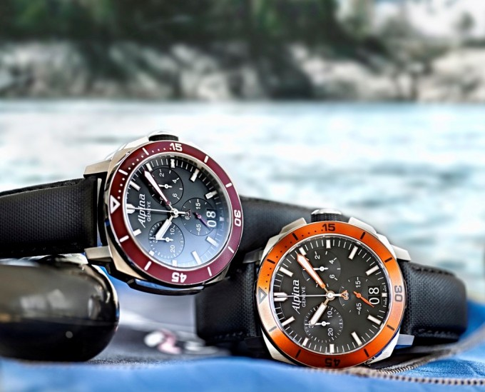 Alpina reveals new Seastrong pro diving watch