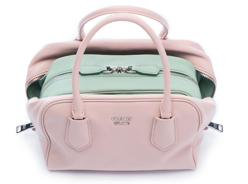 pink prada purse - Meet The Inside Bag - New from Prada, Hot for Autumn - Duty Free ...