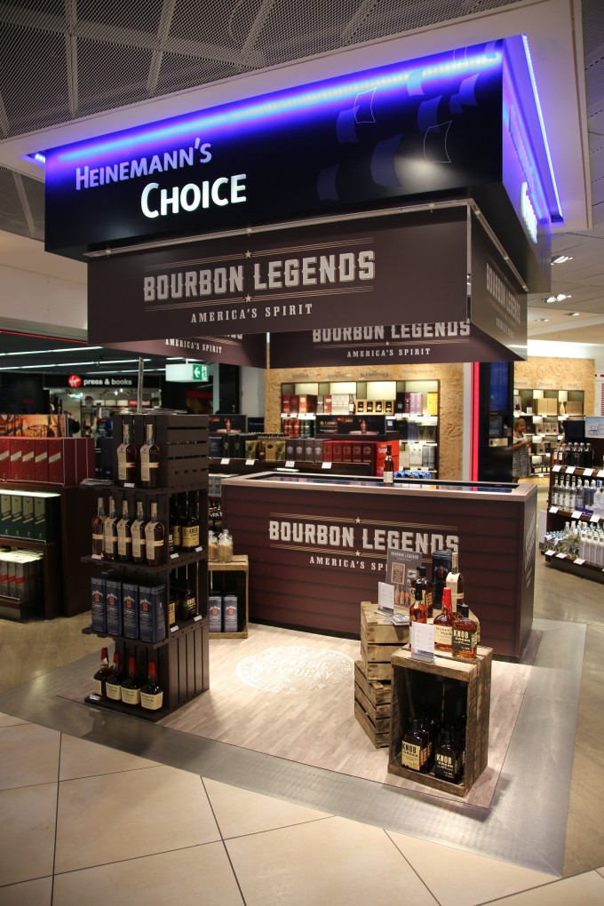 Like Bourbon? Then Frankfurt airport is the place to be