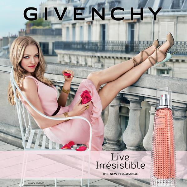 Amanda Seyfried fronts new Givenchy Irrésistible fragrance