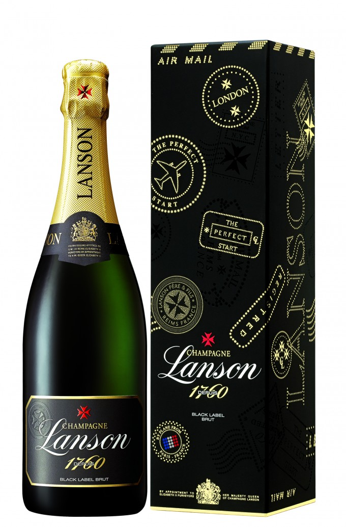 Champagne Lanson unveils exclusive gift box & 15% off at Paris CDG with Aelia