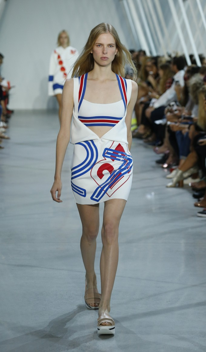 Lacoste collection shows Olympic ambition
