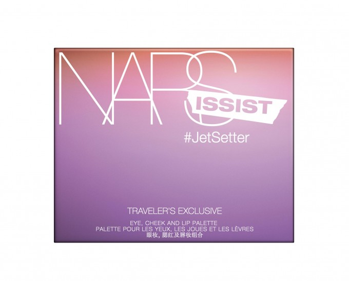NARS reveals #Jetsetter; Exclusive collection for travellers