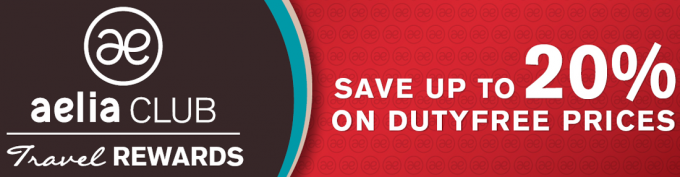 Aelia NZ introduces Reward scheme; up to 20% off duty free shopping