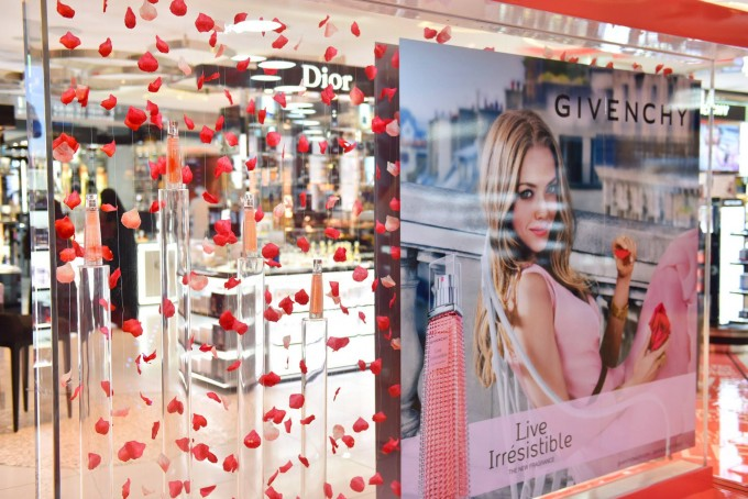 Givenchy spectacular lands at Qatar Duty Free
