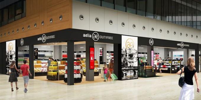 Luxembourg airport opens new Aelia Duty Free shops - Duty Free ... 50e4d9e91a