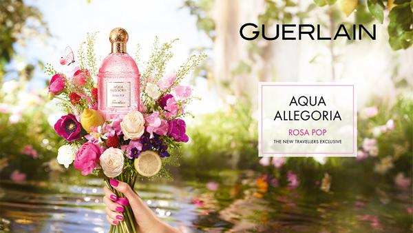 Guerlain launches travel retail exclusive Rosa Pop fragrance