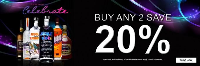 SAVE: Shop the Aelia Duty Free NZ 20% off January promotion