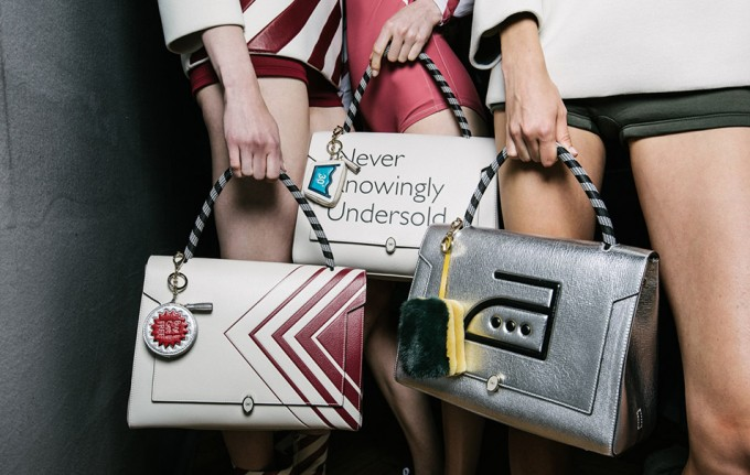 Brit style and humour from Anya Hindmarch SS16