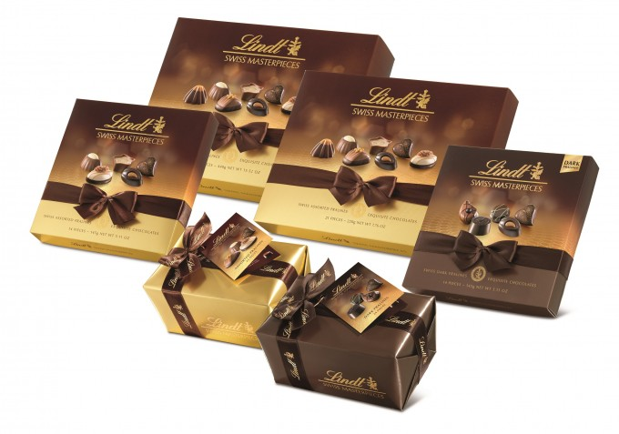 Zurich and Dubai Duty Free to debut LINDT Swiss Masterpieces range