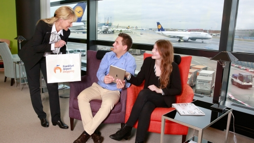 Lufthansa & Frankfurt airport team up with digital shopping service