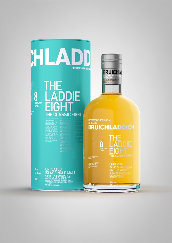 Bruichladdich brings 'The Laddie Eight' to travellers