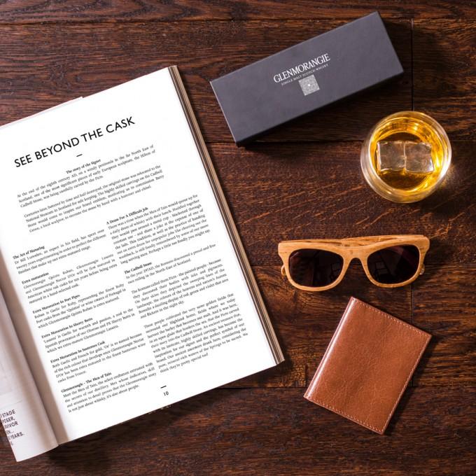 Glenmorangie creates luxury sunglasses from old whisky casks