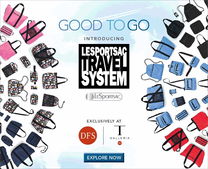 DFS On The Go with exclusive LeSportsac range for travellers