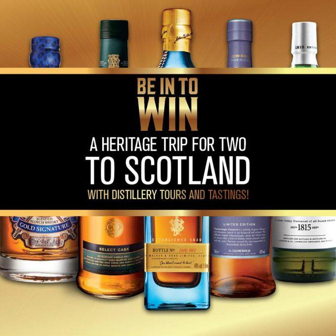 WIN a trip for 2 to Scotland with Aelia Duty Free New Zealand