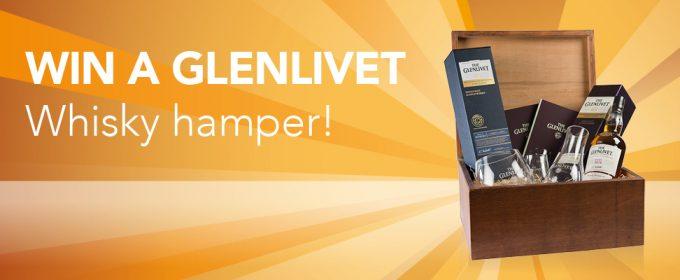 WIN: The Glenlivet whisky hamper at World Duty Free