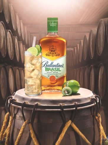 Ballantine's Brasil launches in Asia duty-free