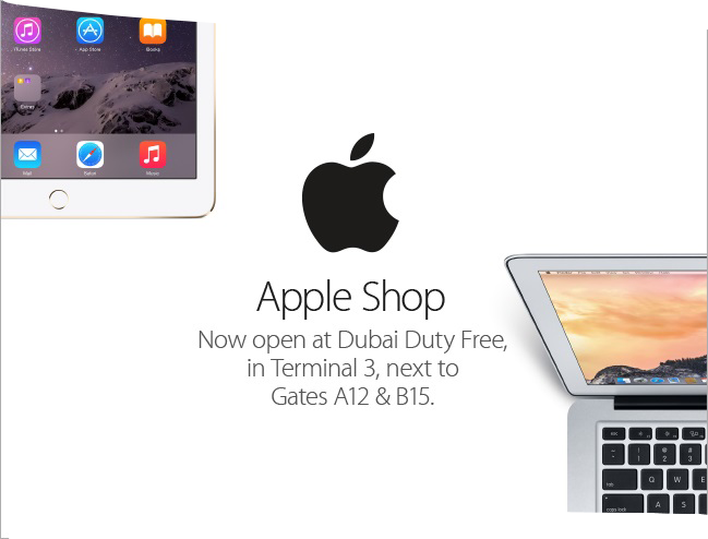 BIG Apple: Dubai unveils world's largest Apple shops in travel retail