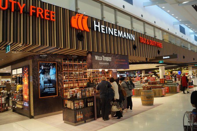 Get a taste for Wild Turkey at Heinemann Sydney duty-free
