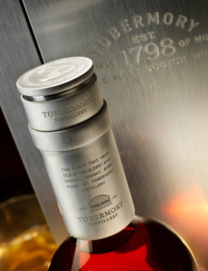 Tobermory unveils 42yo Malt exclusive for travellers