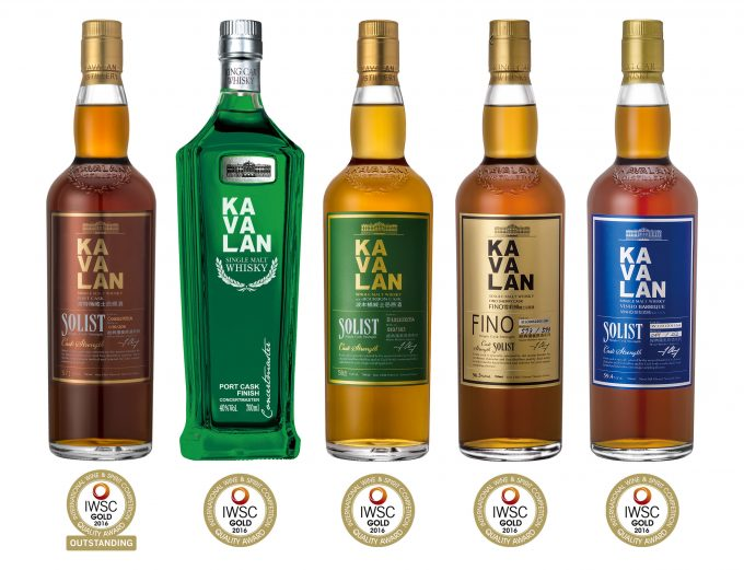 Taiwan's Kavalan triumphs at International Wine and Spirits Competition