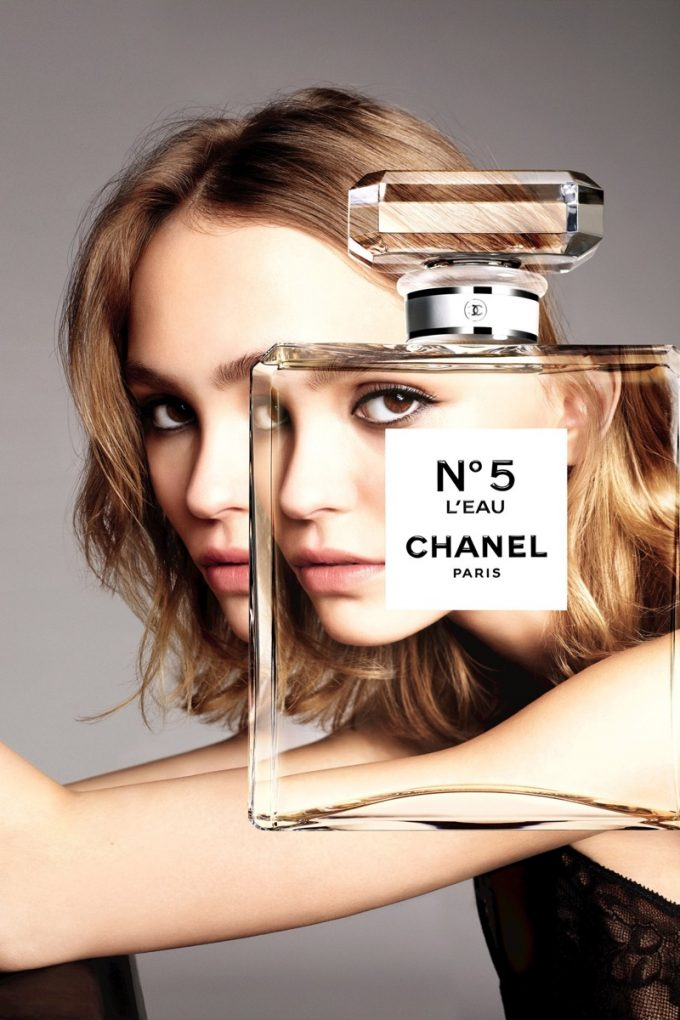 Lily-Rose Depp wows in new Chanel No. 5 campaign
