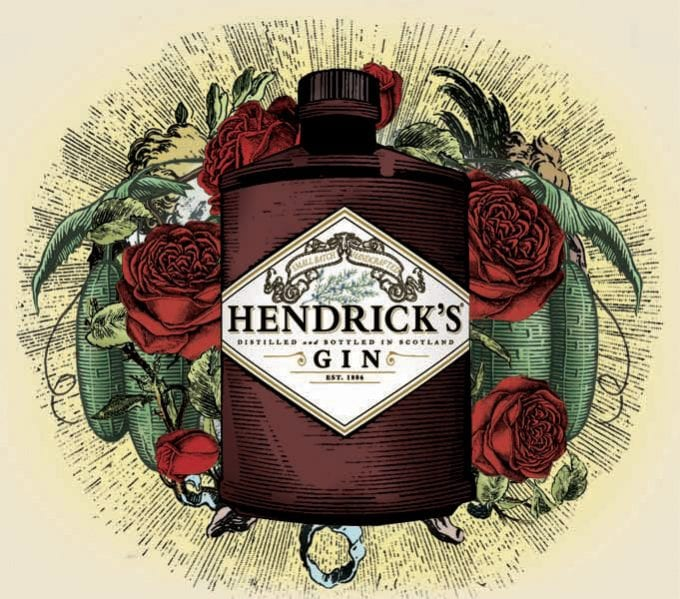 HENDRICK'S GIN duty free