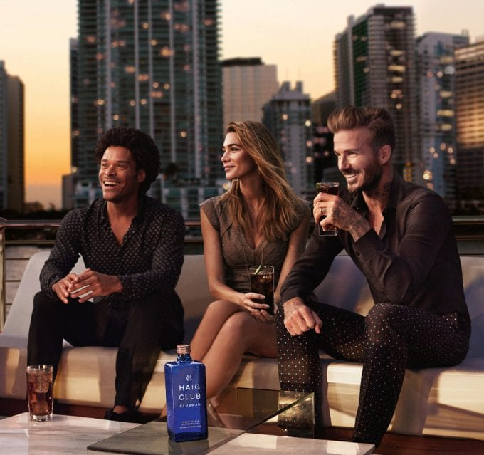 David Beckham stars in new Haig whisky campaign