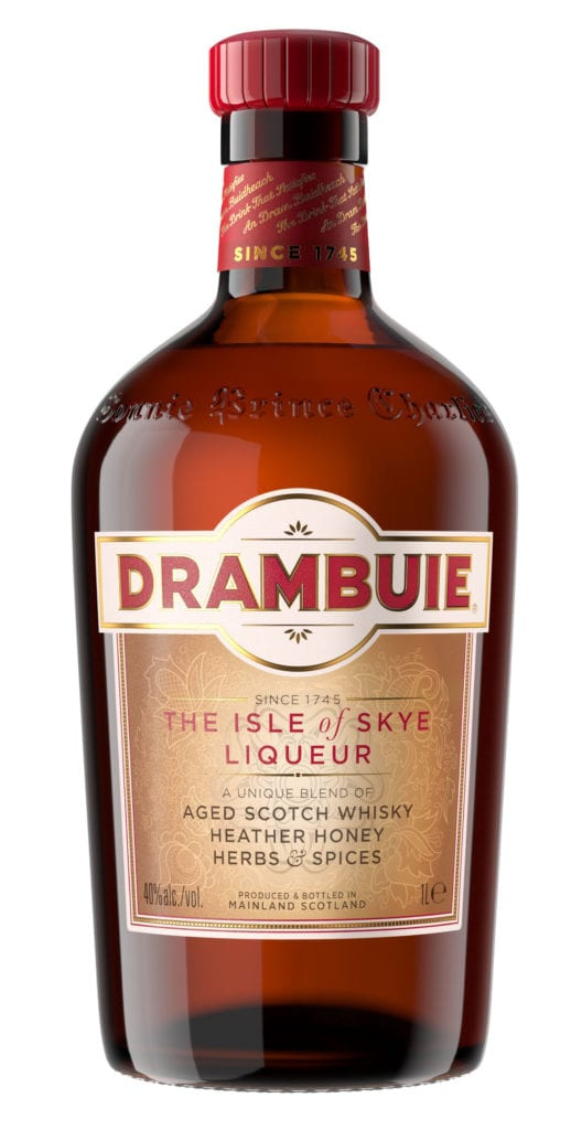 Drambuie liqueur gets a stylish makeover