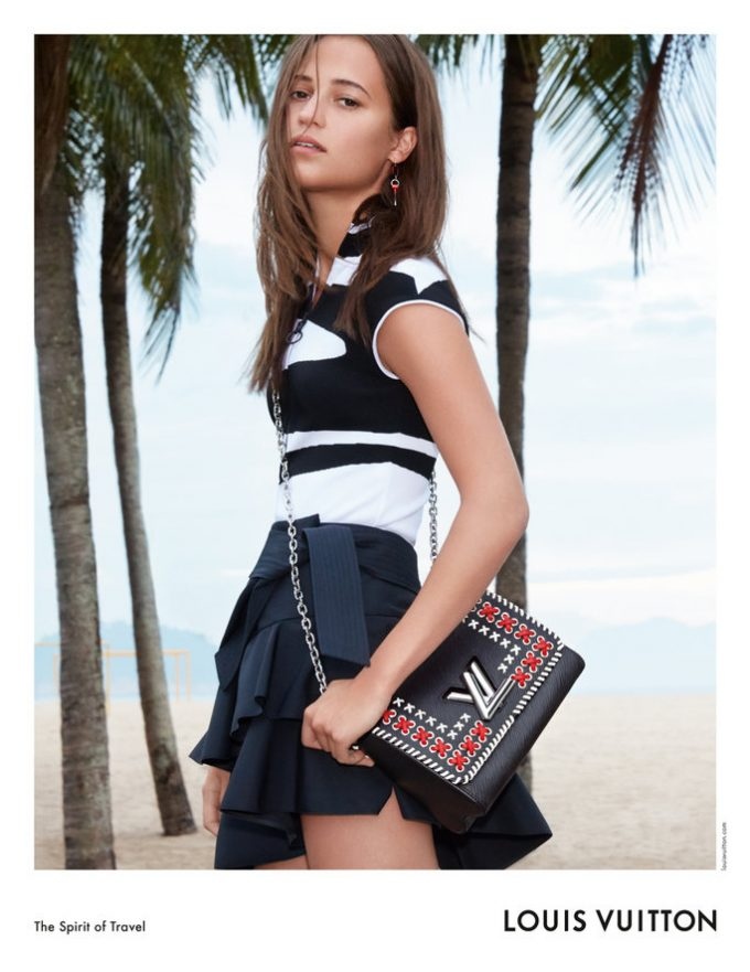 Alicia Vikander stars in Louis Vuitton's 2017 Cruise Campaign