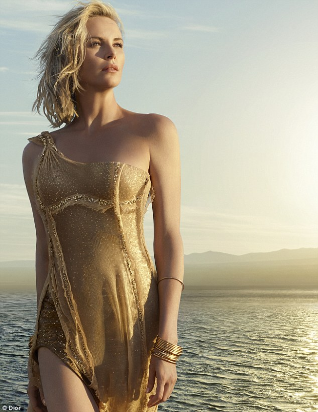 Charlize Theron is pure gold in new Dior J'adore film
