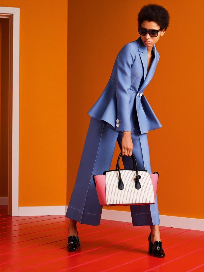 Bally wows with 'ultra-colour' & sixties shapes for Spring 2017
