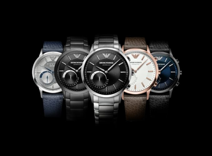 Emporio Armani unveils Connected collection of hybrid smartwatches