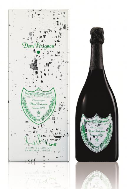 Dom Pérignon unveils special editions by artist Michael Riedel