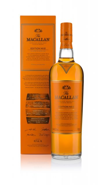The Macallan x Roca Brothers release Edition No. 2 single malt