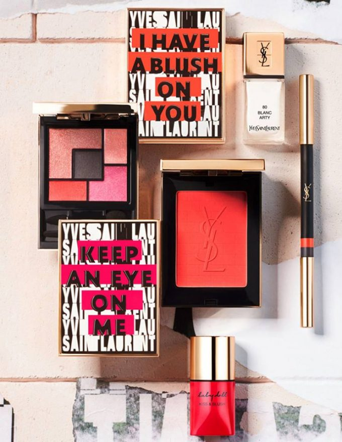 FIRST LOOK: YSL Street Art Collection for Spring 17