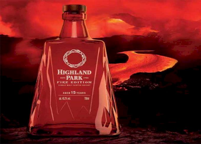 Highland Park launches red 'apocalyptic' Fire Edition