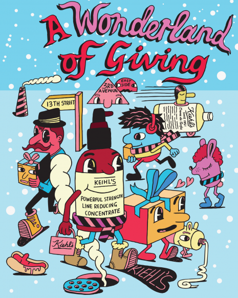 GIVE. LOVE. Kiehl's x Jeremyville Collection launches in airports worldwide
