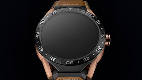 Tag Heuer debuts 18k rose gold Connected smartwatch