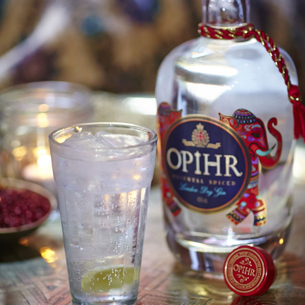 Exclusive to The Loop Duty Free at Auckland Airport: Opihr Oriental Spiced Gin