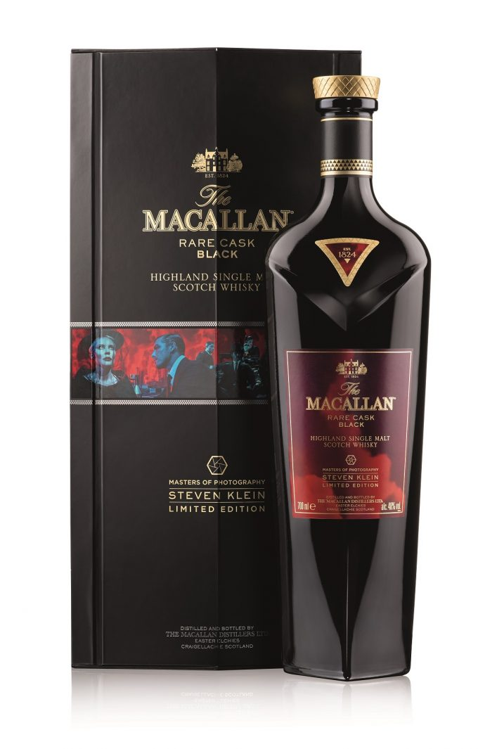 Steven Klein reimagines Macallan Rare Cask Black for duty-free exclusive release