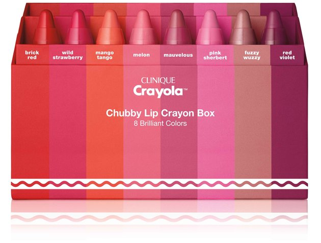 Clinique x Crayola Chubby Stick collection (for grown ups) launches