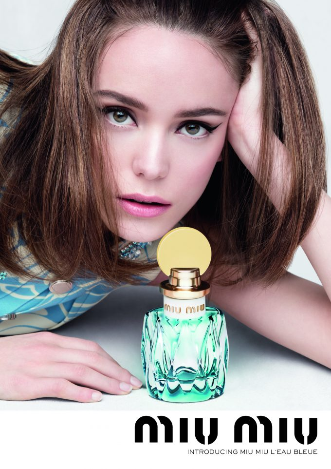 Miu Miu introduces L'Eau Bleue – the perfect Springtime scent