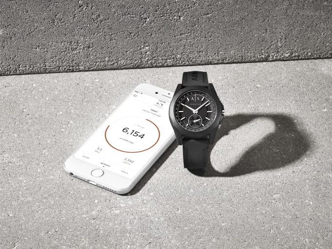 Armani Exchange launches new hybrid Smartwatch collection