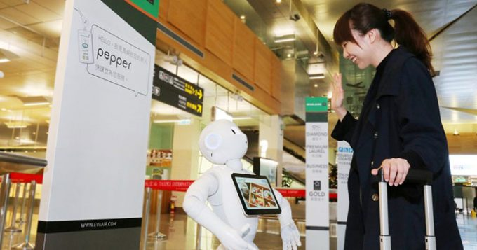 EVA Air introduces robots to help with your duty-free shopping & more